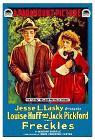 Freckles (1917 film) poster