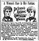 18891109 Arsenic complexion wafers - Helena Independent