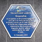 Ibuprofen Blue Plaque, BioCity, Nottingham 01