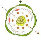 Aesculus hippocastanum floral diagram colored