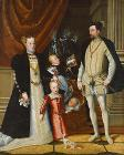 "Holy Roman Emperor Maximilian II. of Austria and his wife Infanta Maria of Spain with their children. label QS:Len,""Holy Roman Emperor Maximilian II. of Austria and his wife Infanta Maria of Spain with their children."" label QS:Lde,""Maximilian II. (1527-1"