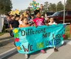 Students, families walk to support Autism Awareness Month 140404-M-ZZ999-331